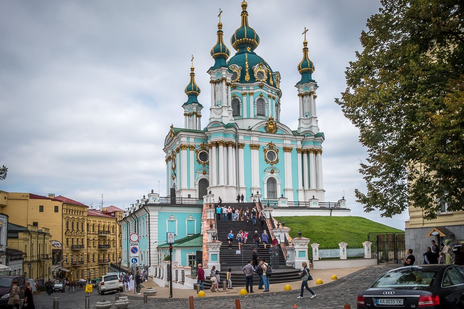 Kiev St Andrew's church