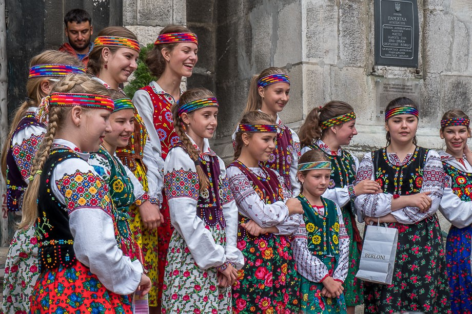 Lviv girl's choir
