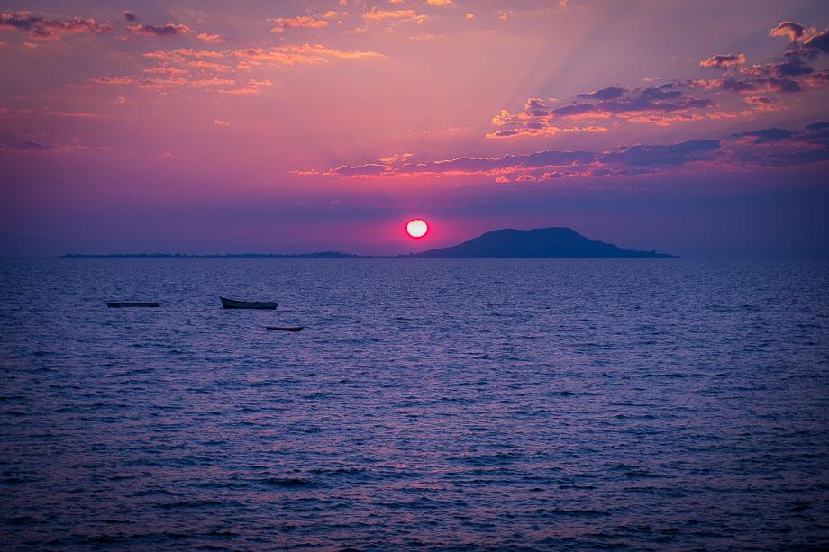 Lake Malawi sunset