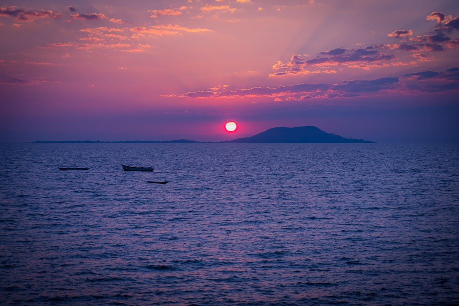 Lake Malawi sunset