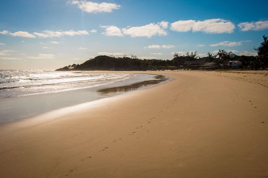 Mozambique Tofo beach