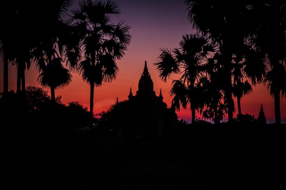 Myanmar Bagan sunset
