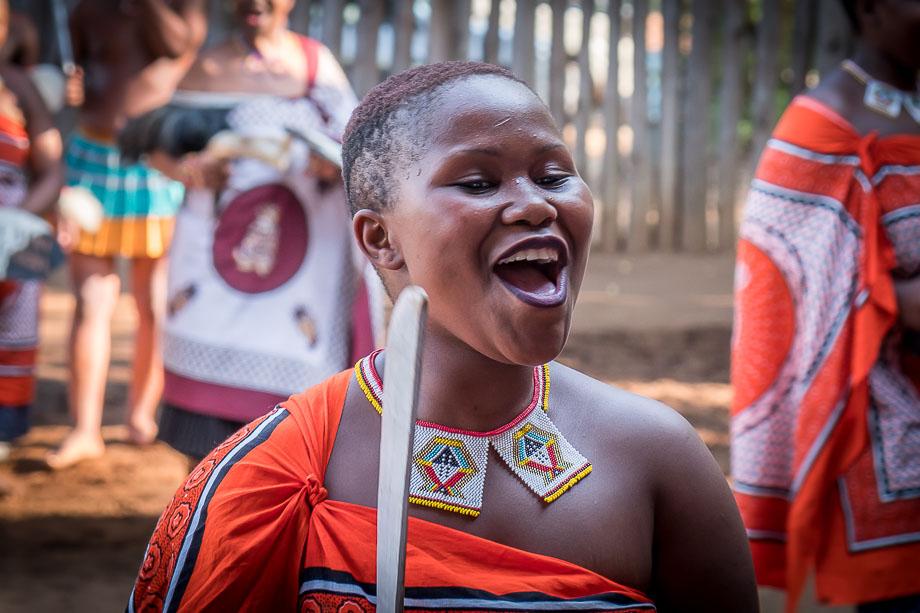 Swaziland eSwatini traditional dance