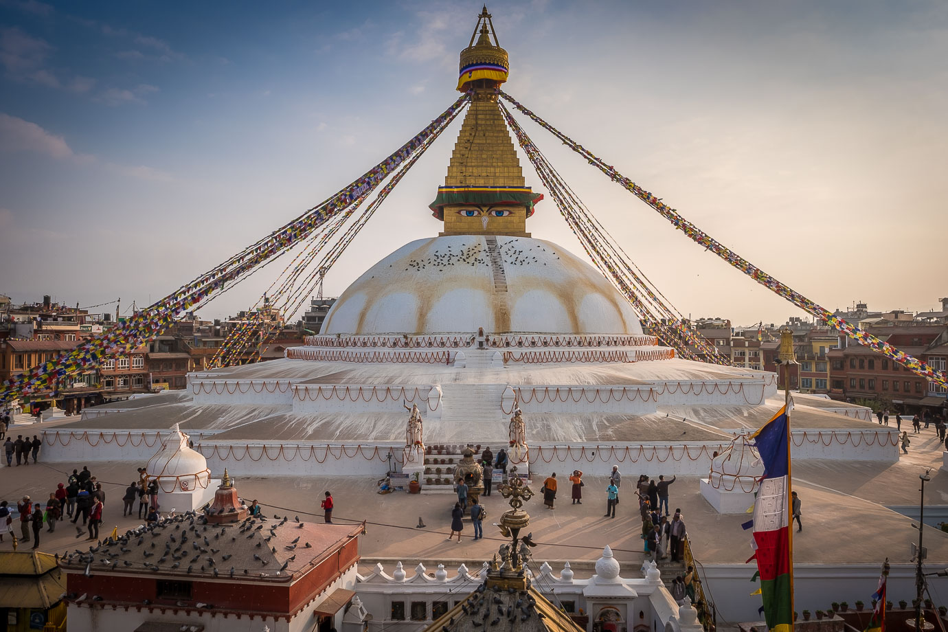 Kathmandu Bouddhanath stupa