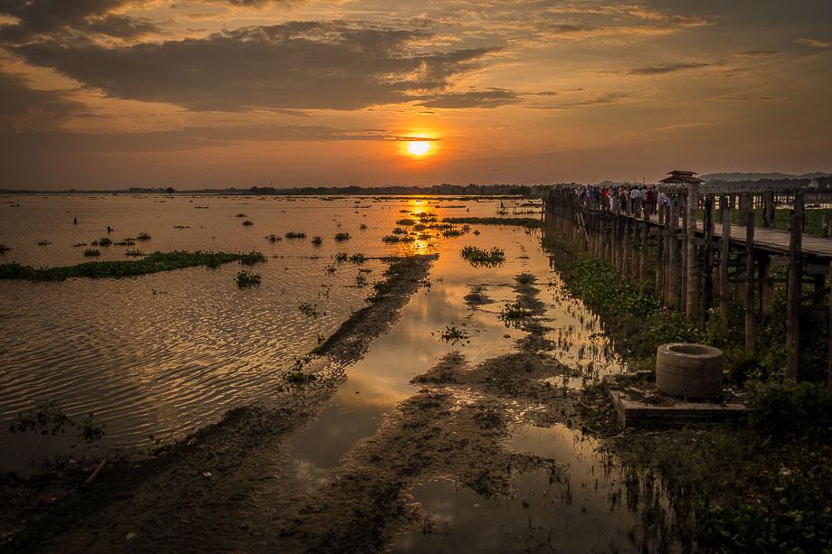 mandalay u-bein bridge
