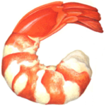 Cooked peel and eat shrimp