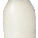 Glass bottle pint of milk