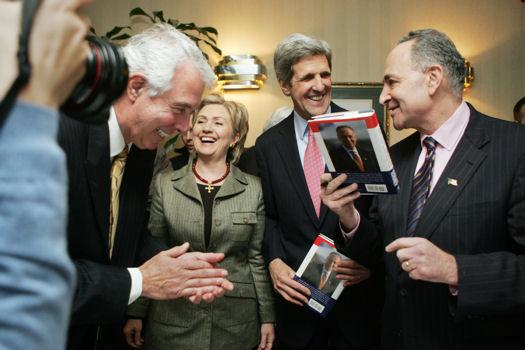 Hillary & John Kerry
