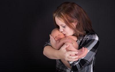 Newborn session for Beau