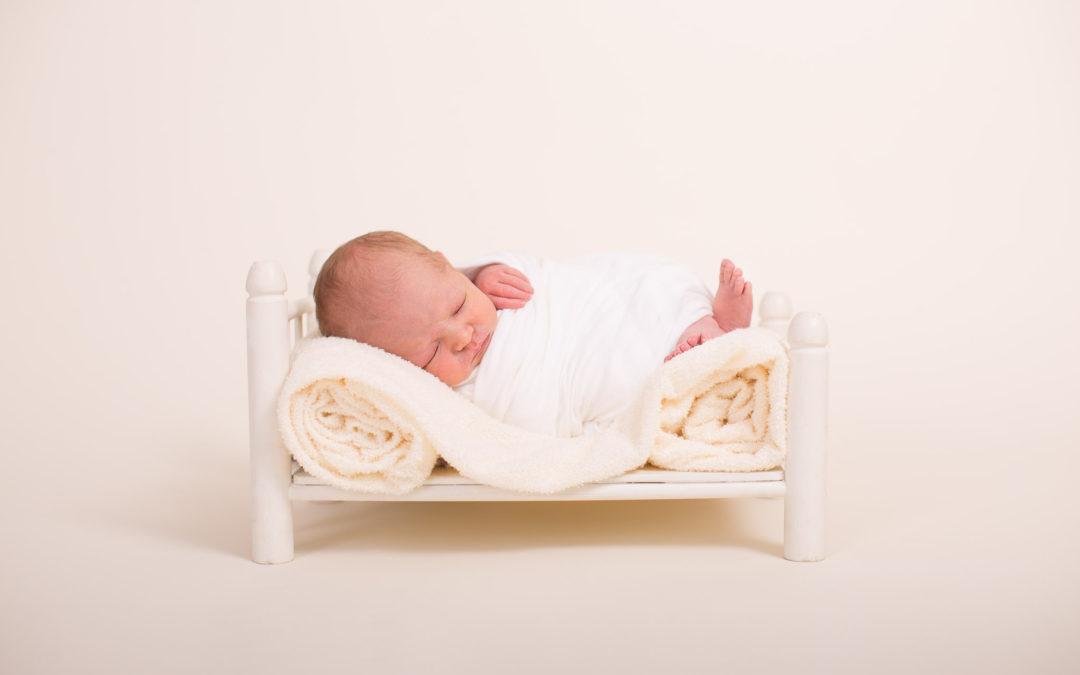 Newborn photography session- Evan