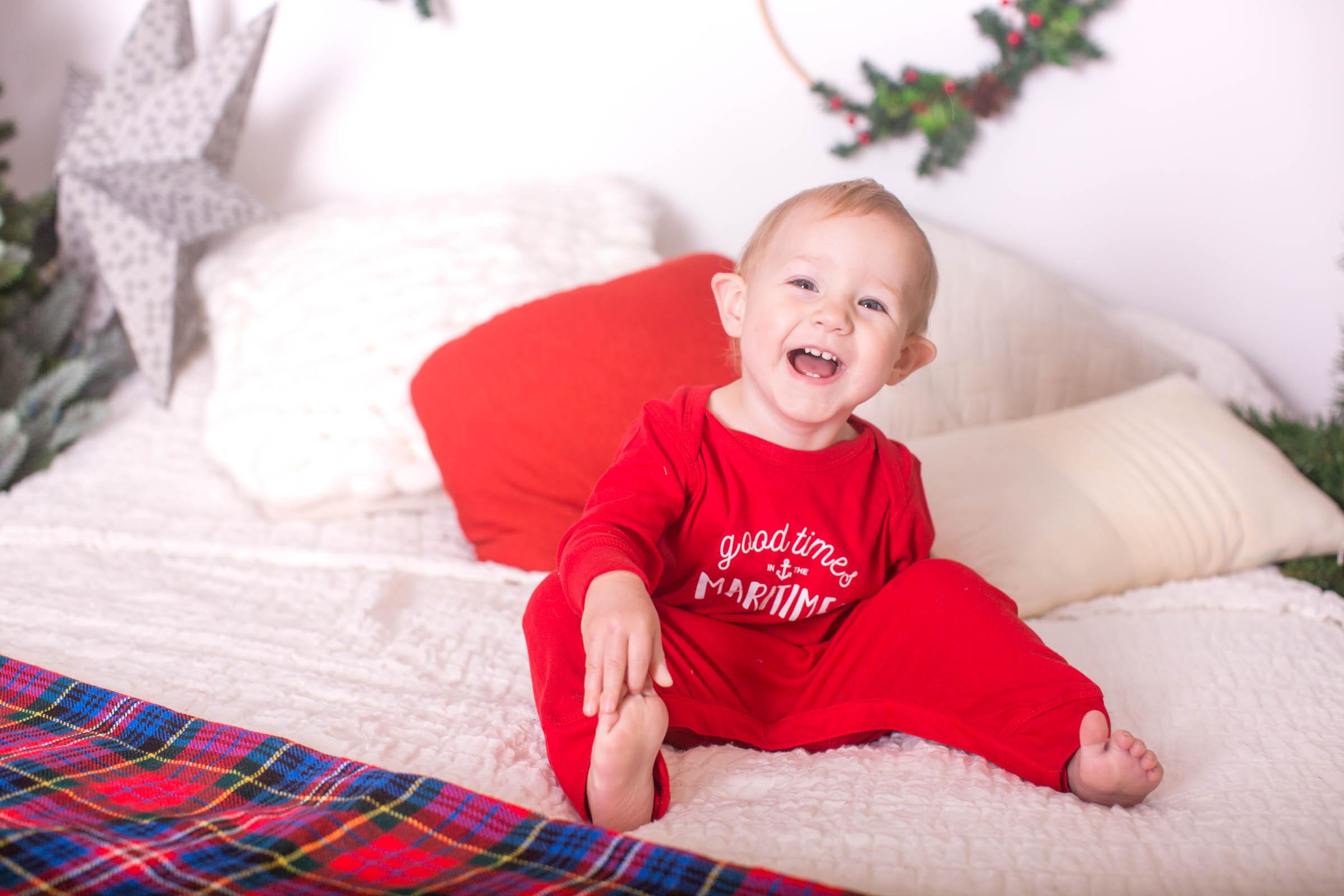 Image of boy laughing