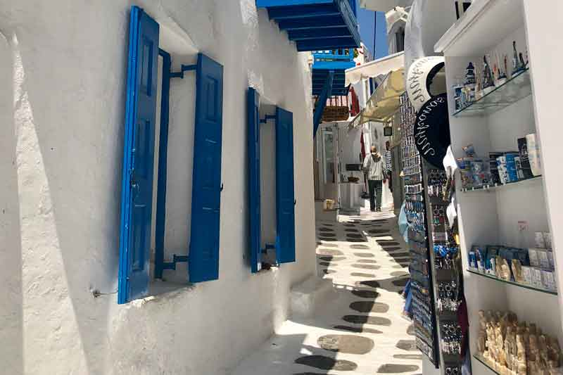 Greece-alley