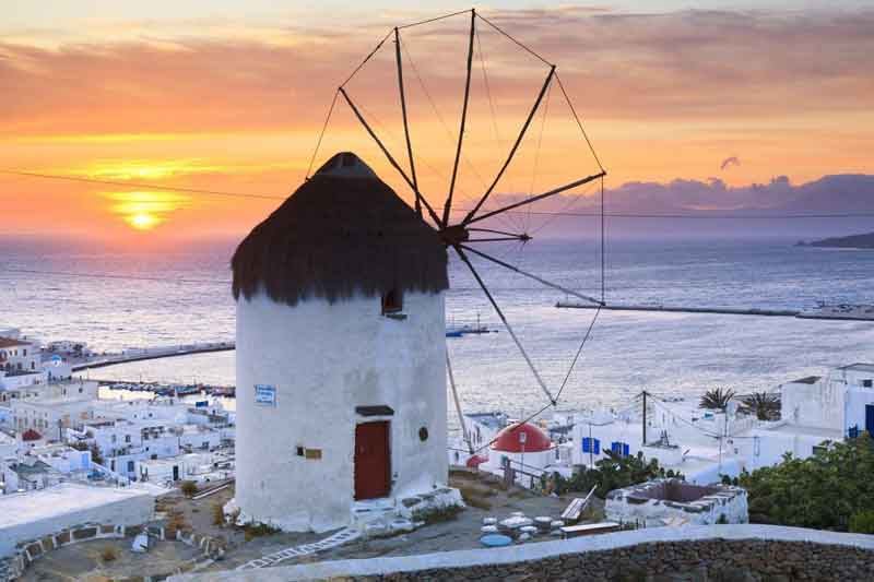 Greece-windmill