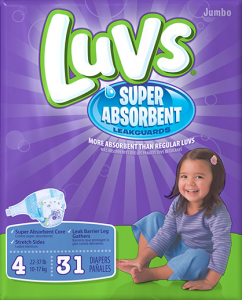 Luvs Diapers
