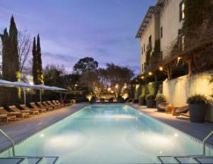 Hotel Healdsburg pool area