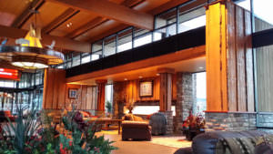 Spa Tower lobby