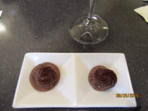 Dessert was third pairing