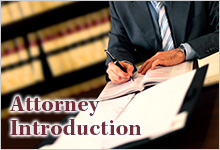 Attorney introduction
