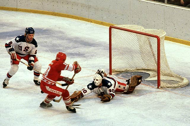Jim Craig saves another goal