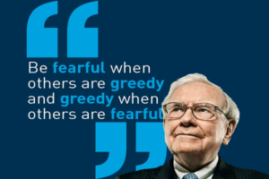 Buffet- Be greedy when others are fearful