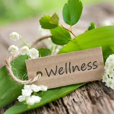 Wellness Wood Tag