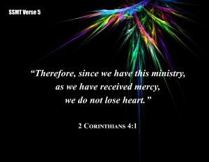 V5 2 Cor 4 1