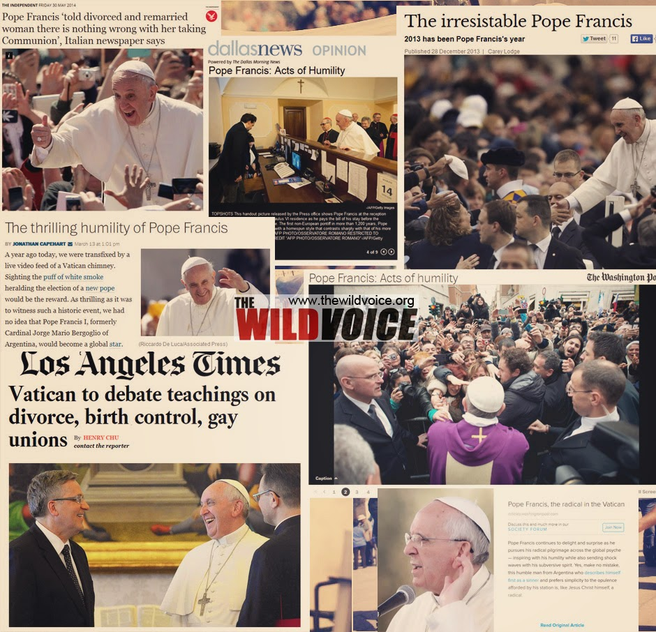 pope francis in news