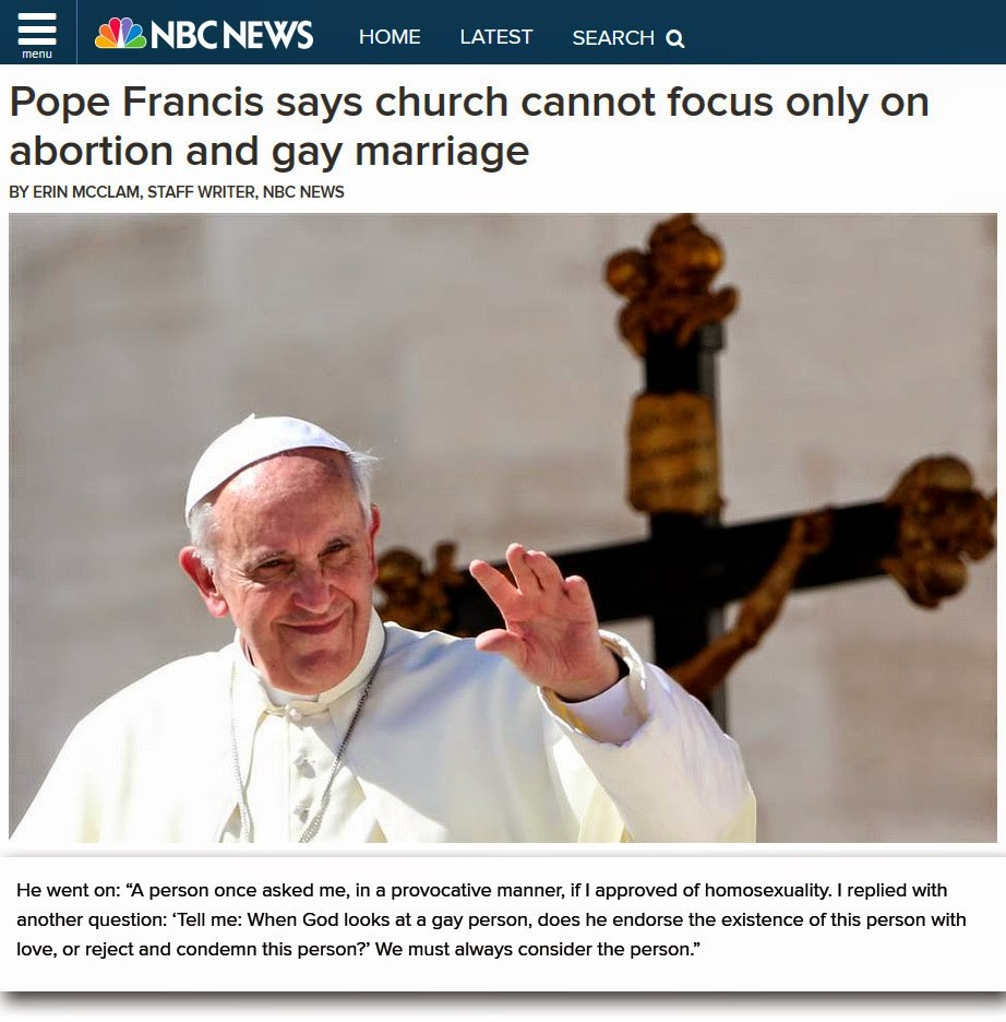 pope francis modernist
