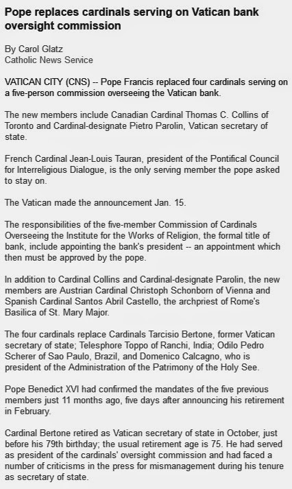 pope francis article photo
