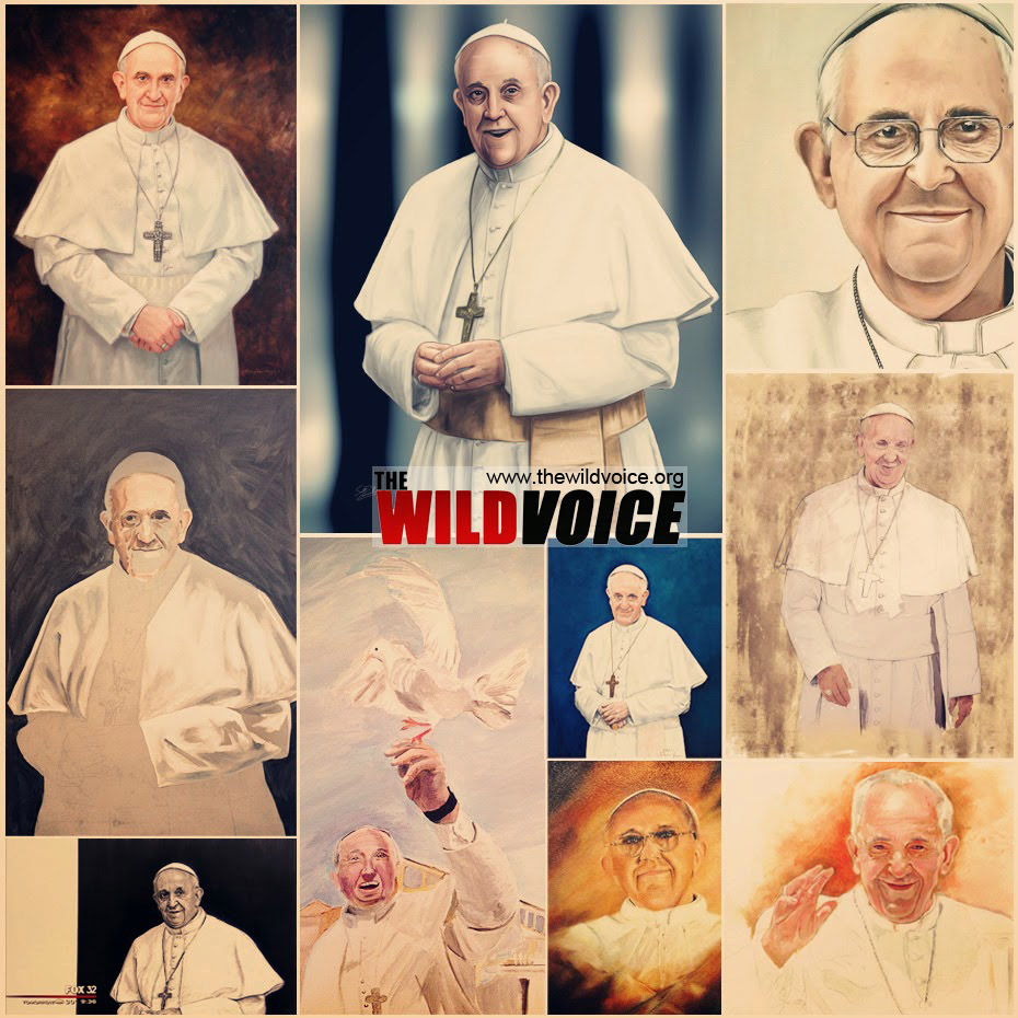 pope francis paintings