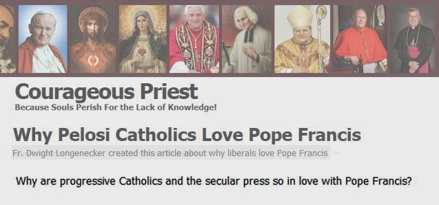 pope francis secular world