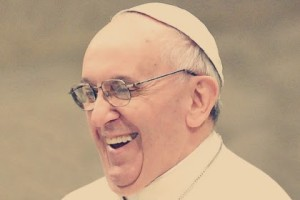 pope francis smile