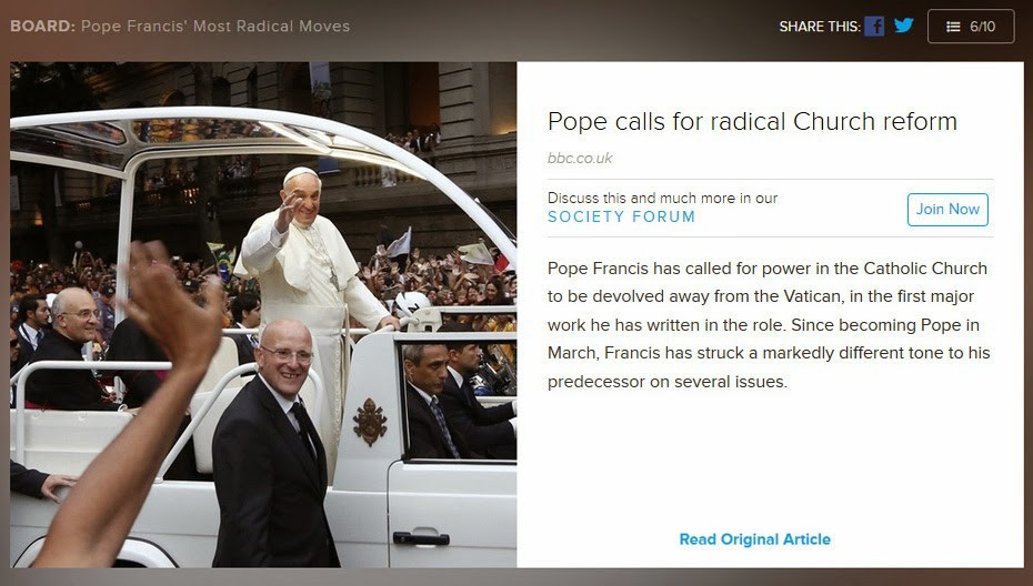 pope reform