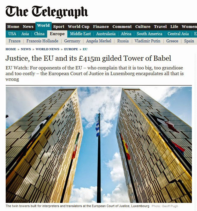 the wild voice - eu - the telegraph - babel