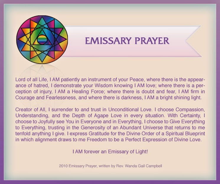 one world religion prayer
