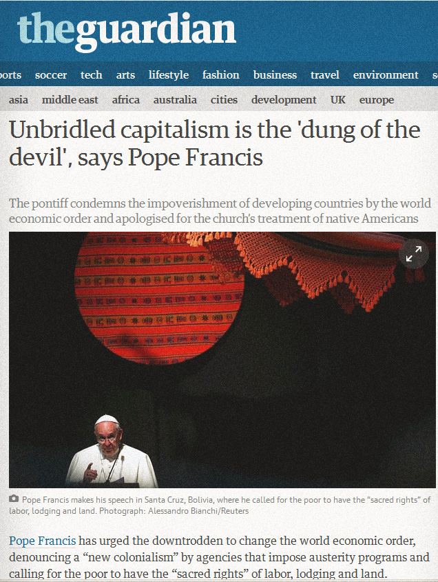 pope dung of the devil