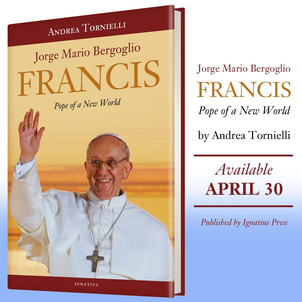 New World Pope, Pope Francis, False Prophet, Mario Bergoglio, book, Andrea Tornielli