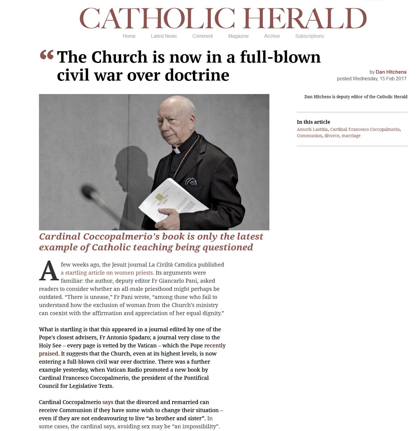 church in civil war francis