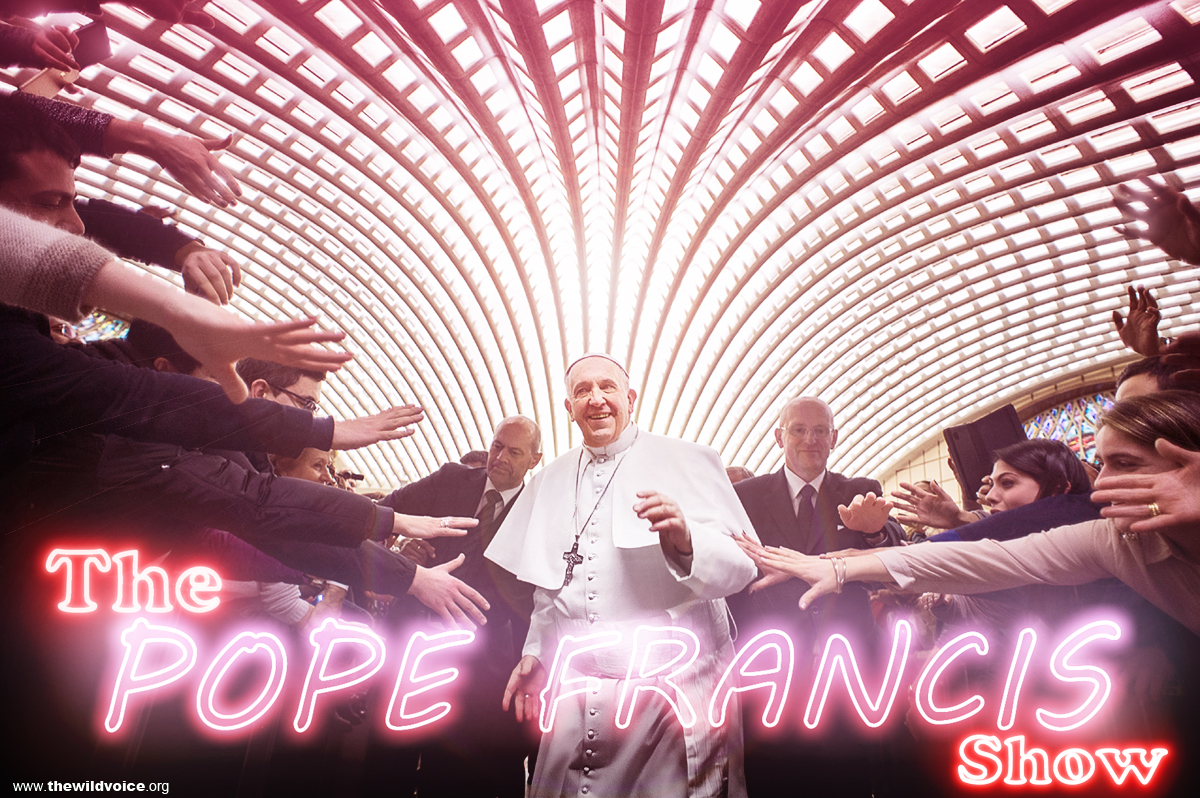 Pope, Francis, the, show, media, sensation, Catholic, Church, Vicar, popular, popularity, star, celebrity. celeb, holy, saint, Jorge, Mario, Bergoglio