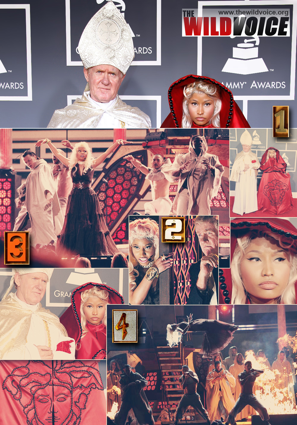 Illuminati, The WILD VOICE, Nicki Minaj, Pope, False Prophet, Vatican, Maria Divine Mercy, Synod
