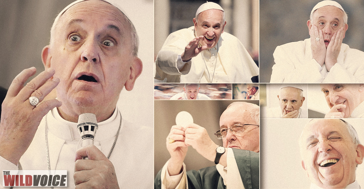 Pope Francis, Jorge Mario Bergogaria Divine Mercy, False Prophet, the WILD VOICE