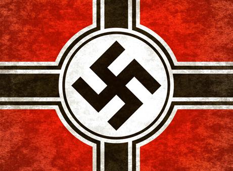 Illuminati, sawstika, death, secret societies, red, white, black, the WILD VOICE