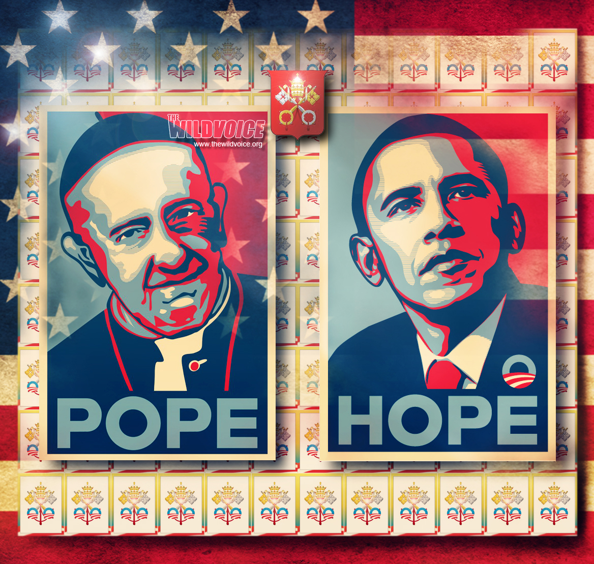 Barack Obama, Maria Divine Mercy, Pope Francis, False Prophet, THE WILD VOICE, New World Order,
