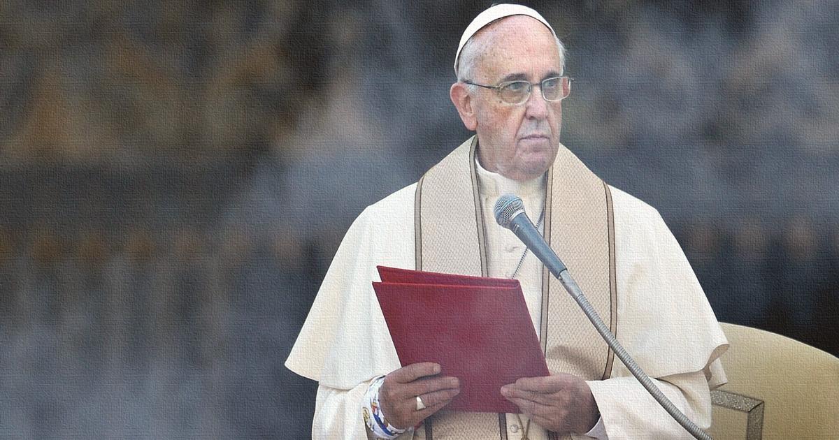 Catholics speak to pope francis