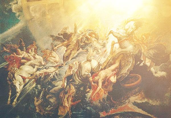 Python, Greek, Greece, ancient, False Prophet, Antichrist, Lucifer, Zeus, Illuminati, chariot, occult, chariot, paganism, Vatican, Pope Francis, The WILD VOICE, myth, legend, mythology, mythological, Freemasonry, Freemasons, Jorge Mario Bergoglio