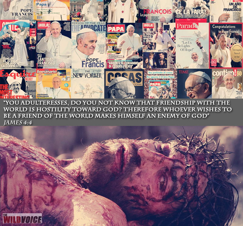 Jesus, Christ, Lord, Truth, Catholic, Bible, Pope, Francis, Jorge Mario Bergoglio, False Prophet, The WILD VOICE, Maria Divine Mercy