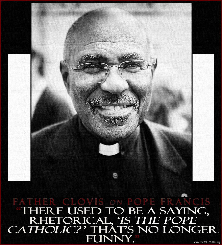 Father Clovis quote