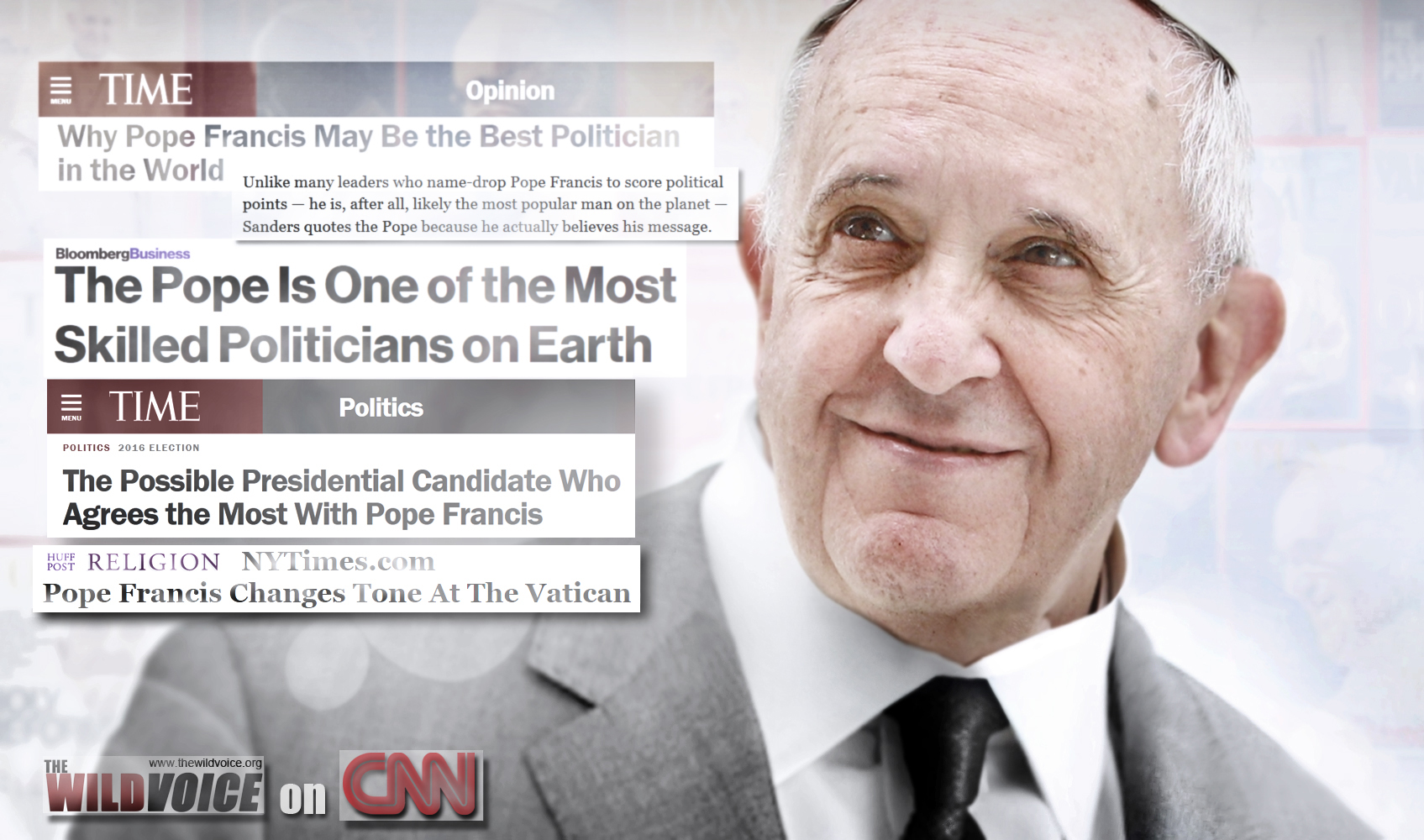 CNN, the wild voice, John Blake, Pope Francis, False Prophet