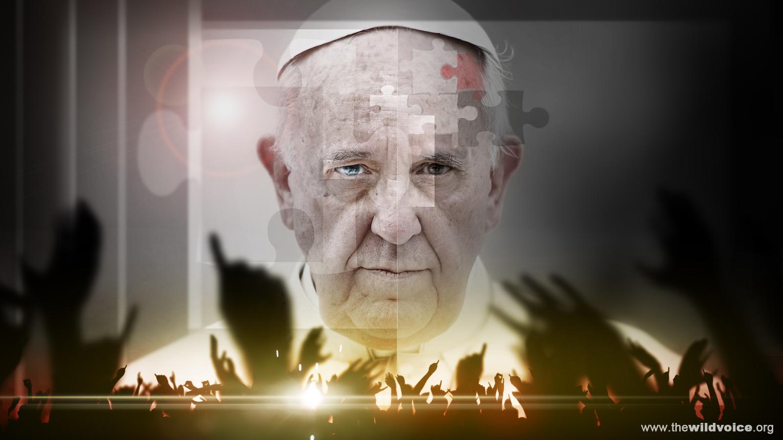 Pope Francis, False Prophet, Maria Divine Mercy, The Wild Voice, Satanic, NWO, Antichrist,
