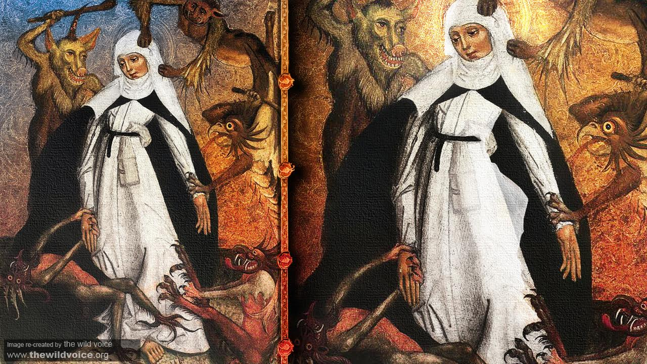 Saint Catherine of Siena devil